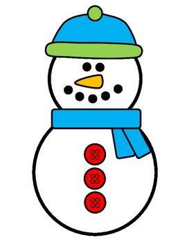 Snowman Craft (Printable)