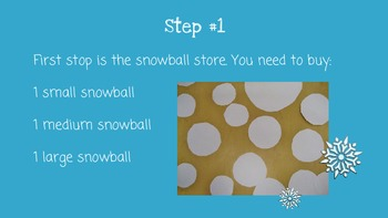 Winter Snowman: A Craft Project For Kids - Identifying & Matching Practice