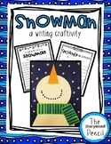 Snowman Craft and Writing