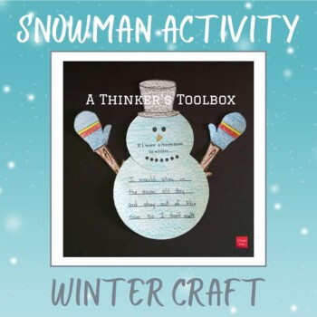 Snowman Craft with Writing Prompt