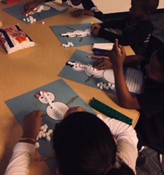 Snowman  Measurement Craftivity