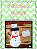 Snowman Craftivity Freebie!
