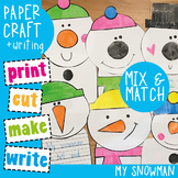 Snowman Craftivity {Paper Craft + Writing}