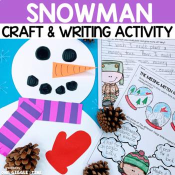 Snowman Craftivity (The Missing Mitten Mystery)