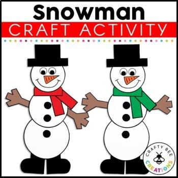 Snowman Cut and Paste