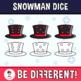 Snowman Dice Clipart