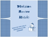 Snowman Division Riddle