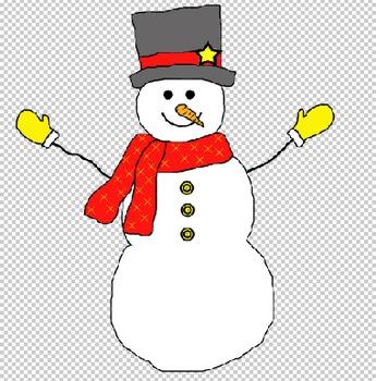 Snowman Doodle3