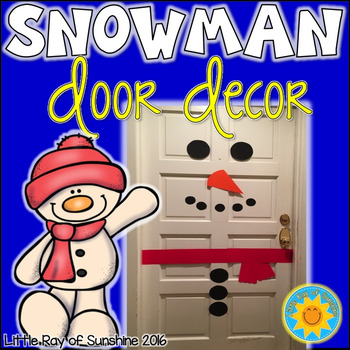 Snowman – Door Decor