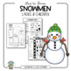 Snowman Drawing Kit