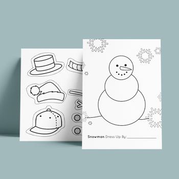 Peaceful Design Snowman Printable Coloring Pages Templates ...   350x350