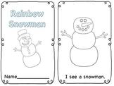 Snowman Emergent Reader