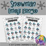 Snowman Emoji Bingo