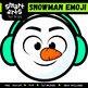 Snowman Emoji Clip Art