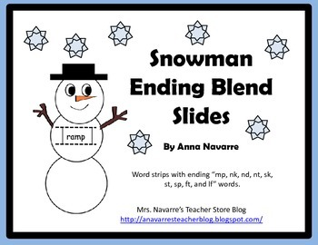 Snowman Ending Blend Slides