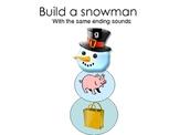 Snowman Ending Sound Activity