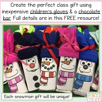 Class Gift Labels