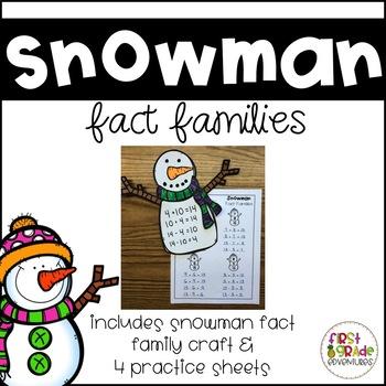 Snowman Fact Families