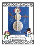 Snowman Fact Family Craftivity