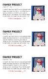 Snowman Family Project