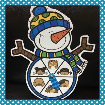 Snowman Feeling Wheel