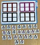 Snowman File Folder Game--Silly Snowman Color Sort 2