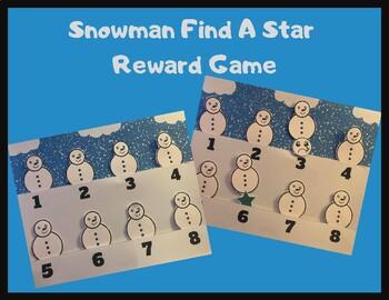 Snowman Find A Star: VIPKID Winter Reward System