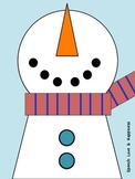 Snowman Following Directions
