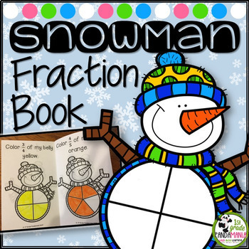 Snowman Fraction Book