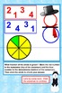 Snowman Fractions - A minilesson and practice in naming fractions