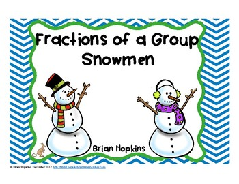 Snowman Fractions of a Group