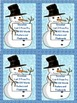 Snowman Fry First 100 Lists 1-4 Sight Word Posters and Flashcards Bundle