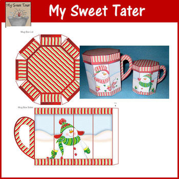 Snowman Fun LARGE Mug