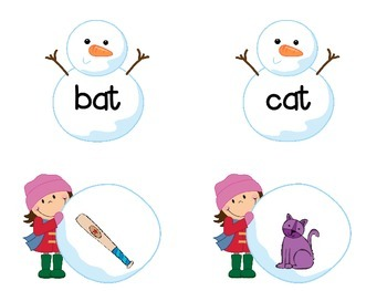 Snowman Fun! Literacy Centers for Kindergarten