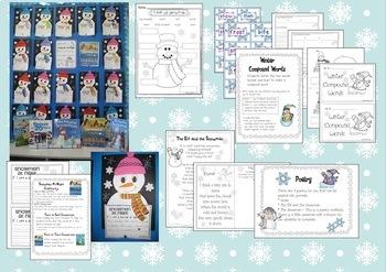 Snowman Fun {Literacy and Math Activities}