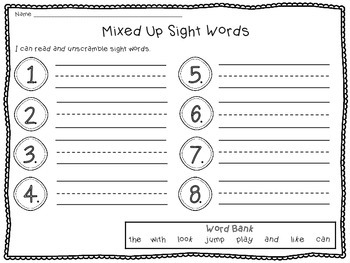 Snowman Fun Math and Literacy Activities