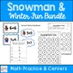 Snowman Fun Activities