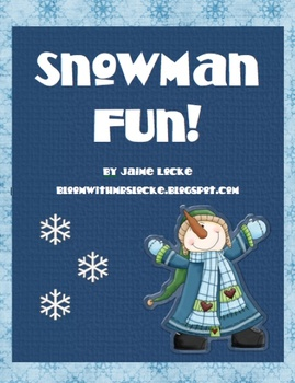 Snowman Fun Pack