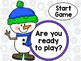 Snowman Fun Stand and Sit Game – Long Vowel a-e