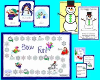 Snowman Game Set