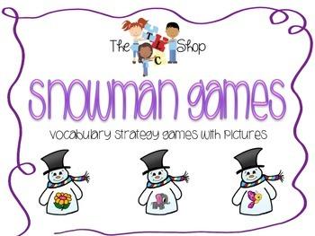 Snowman Games - Describing Activities