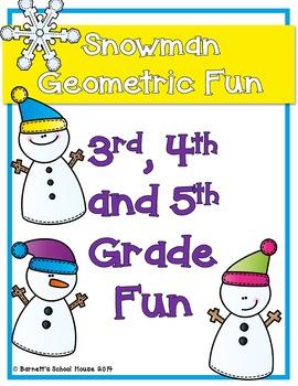 Geometric Packet CC aligned {3rd, 4th & 5th Grade}