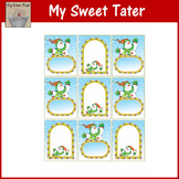 Snowman Gift Tags - Add your own text