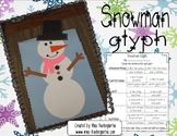 Snowman Glyph Bulletin Board Idea