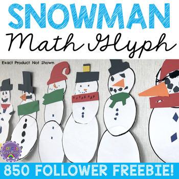 Snowman Math Glyph