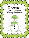 Snowman Glyph, Graph & Writing Activities