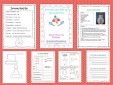 Snowman Glyph Math and Literacy Activities