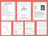 Snowman Glyph Math and Literacy Activities