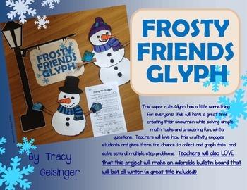Snowman Glyph Plus With Bulletin Board Extras