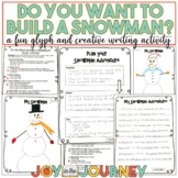 FREE Snowman Glyph Winter Writing Activities
